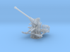1/100 USN Single 40mm Bofors Elevated 3d printed