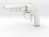 1:3 Miniature Russian Galand Revolver 3d printed