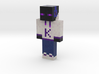 Krafve | Minecraft toy 3d printed