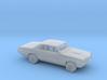 1/87 1965 Pontiac GTO Kit 3d printed