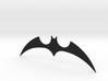 """The New Batman Adventures"" - Batarang Replica 3d printed Black Premium Plastic"
