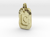 Old Gold Nugget Pendant C 3d printed