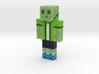 SlimeyTime | Minecraft toy 3d printed