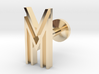 Letter M / W 3d printed