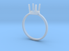 diamond ring size 9 3d printed