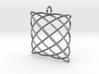 Lissajous Pendant 3d printed