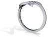 Adjustable Leaf Ring  3d printed