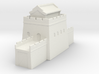 the great wall of china 1/350 tower l roof 3d printed