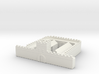 hadrian wall  1/600 2 Milecastle  long  3d printed