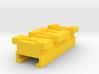 MicroShots Rail to Nerf Rail Adapter (2 Slots) 3d printed