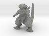 Godzilla Cookie Monster Kaiju Miniature for games  3d printed