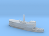 "Steamer ""Gustafsberg VII"" (1912) in 1/1250 scale 3d printed"