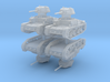 M15 42 Tank (4 pieces) 1/200 3d printed