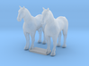TT Scale Draft Horses 3d printed This is a render not a picture