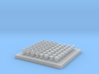 Square Nut Set 1:20.3 scale 3d printed