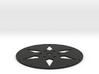 Super Wheel Face Arrow 3d printed