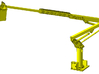 1/50th telescoping bucket lift for service trucks 3d printed