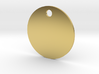 Background Pendant - Flat Circle - #P5B 3d printed