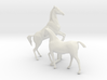 O Scale Horses 4 3d printed This is a render not a picture
