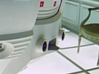 Moebius EVA Pod: Pipe Thingies Vertical 3d printed The tubes as they appear in the alien hotel (horizontal slots)