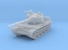 T62 Tank 1/144 3d printed