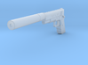 1:3 Silverballer Hitman Gun 3d printed