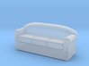 HO Scale 3 seat sofa 3d printed