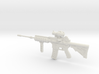 1:6 Miniature Ares Shrike 5.56 Assault Rifle 3d printed