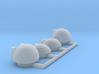 4 bridge variants for 1/1000 PL Enterprise 3d printed