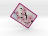 Cherry Blossom Pendant 3d printed