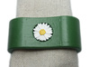 JAVI 3D Napkin Ring with daisy 3d printed
