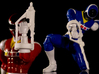 Space Silver Accessory - Power Rangers - SET 3d printed