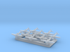 1/1800 WWII Radial-engined fighters 3d printed