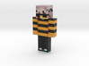 skin slyko_1 | Minecraft toy 3d printed