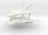 (1:285)(x2) Messerschmitt Me P.1101/92 (Mid-wing) 3d printed