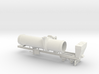 1/50th Asphalt Drum Mixer Batch Dryer Trailer 3d printed