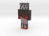 bluedotblackleg | Minecraft toy 3d printed