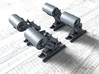 1/350 Royal Navy MKII Depth Charge Throwers x4 3d printed 1/350 Royal Navy MKII Depth Charge Throwers x4
