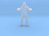 Wolfenstein hero BJ Blazkowicz 1/60 miniature game 3d printed