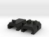 OWO Iron Sights For Piccatiny Rail 3d printed