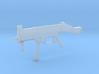 1:6 Miniature Heckler & Koch UMP9 3d printed