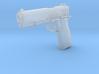 1:3 Miniature Colt Delta Pistol 3d printed