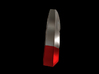 Iron Man Steel Pointer/Ring Finger (Joint 1) 3d printed CG Render (What's highlighted Red will be printed)