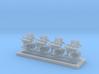 1/350 MKIV POM POM Directors No Type 282 x4 3d printed 1/350 MKIV POM POM Directors No Type 282 x4