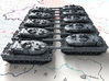 1/700 German Leopard 2A6 MBT X10 3d printed 1/700 German Leopard 2A6 MBT X10