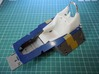 1/12 Tyrrell P34 holed seat 3d printed