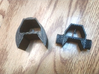 Laser Pulse Rifle Front and Rear Iron Sights 3d printed