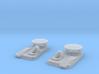 1/192 USS BB59 Anchor Chain Capstan Set 3d printed