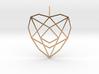 Crystalline Heart Matrix (Flat) 3d printed