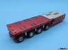 HO/1:87 spmt 4 axles with ppu 3d printed painted & assembled